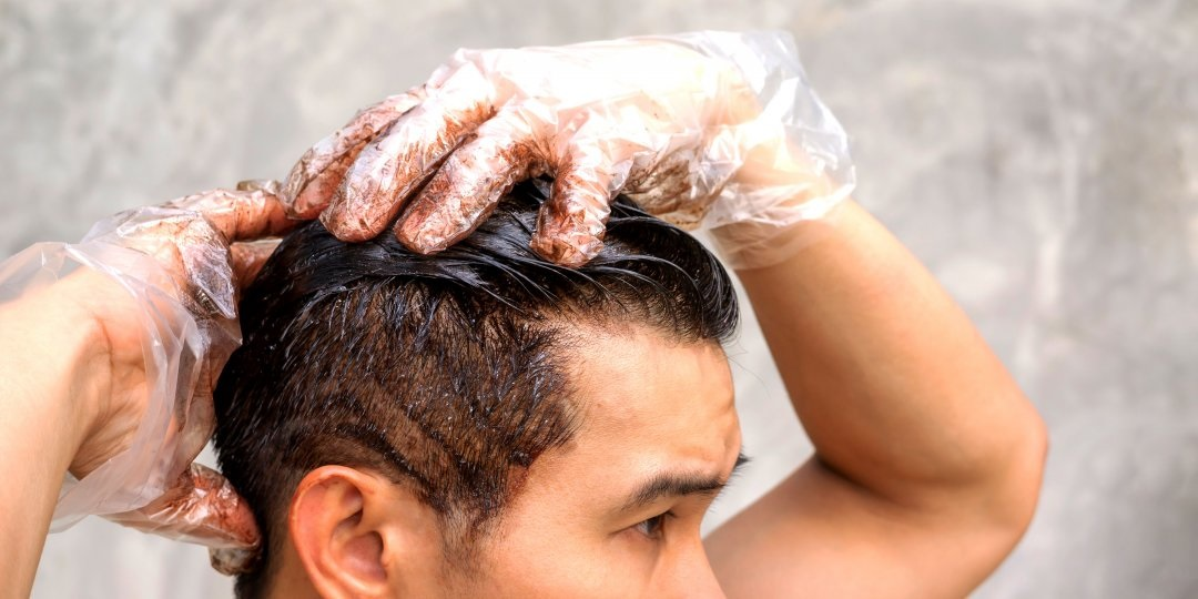 Simple, effective and safe solution to men's hair problem