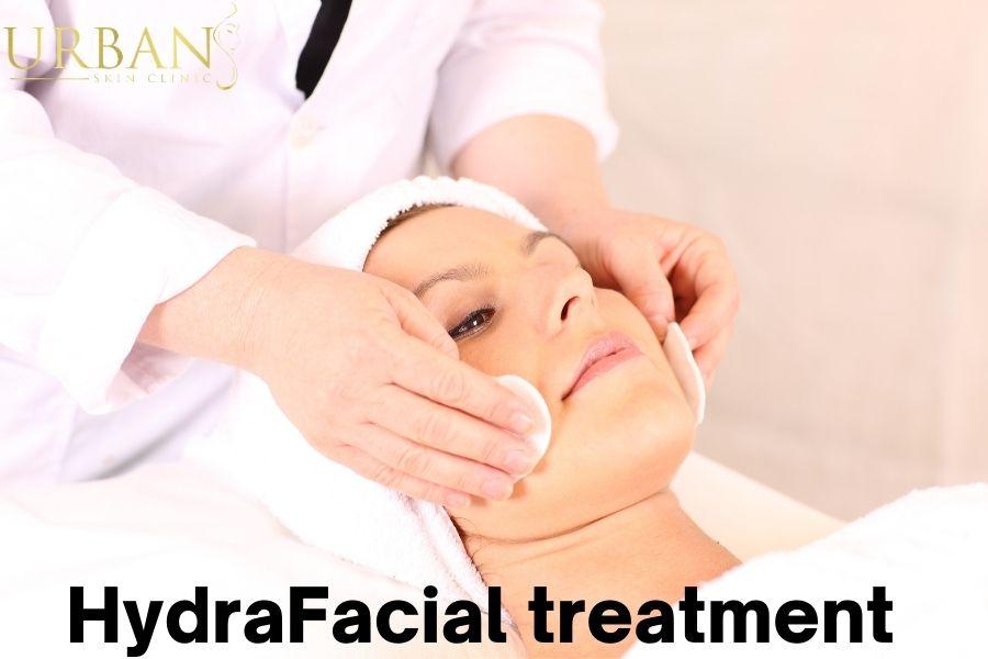 HydraFacial treatment for skincare