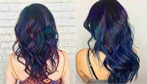 A Guide to Oil Slick Hair