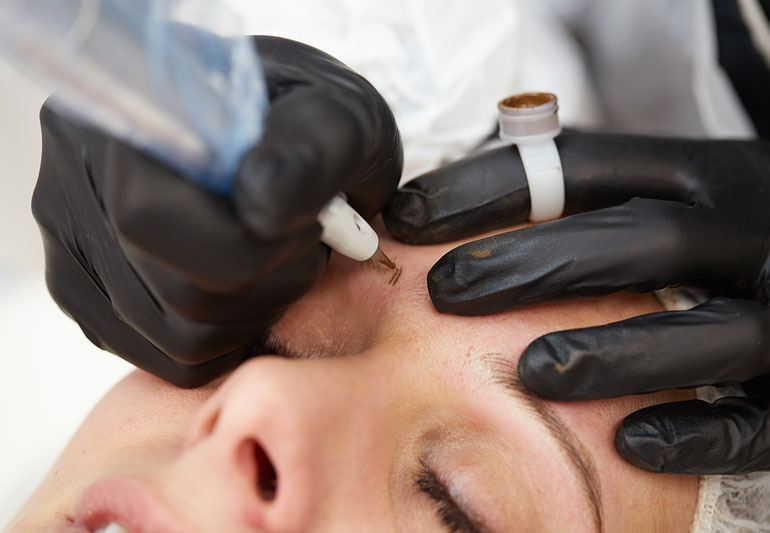 Challenges of Makeup and Getting a Permanent Eyeliner