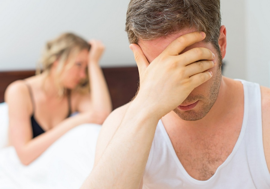 How can you identify that you are having an erection problem?